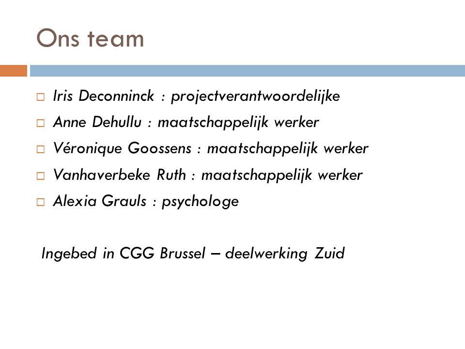 Ons team Iris Deconninck : projectverantwoordelijke