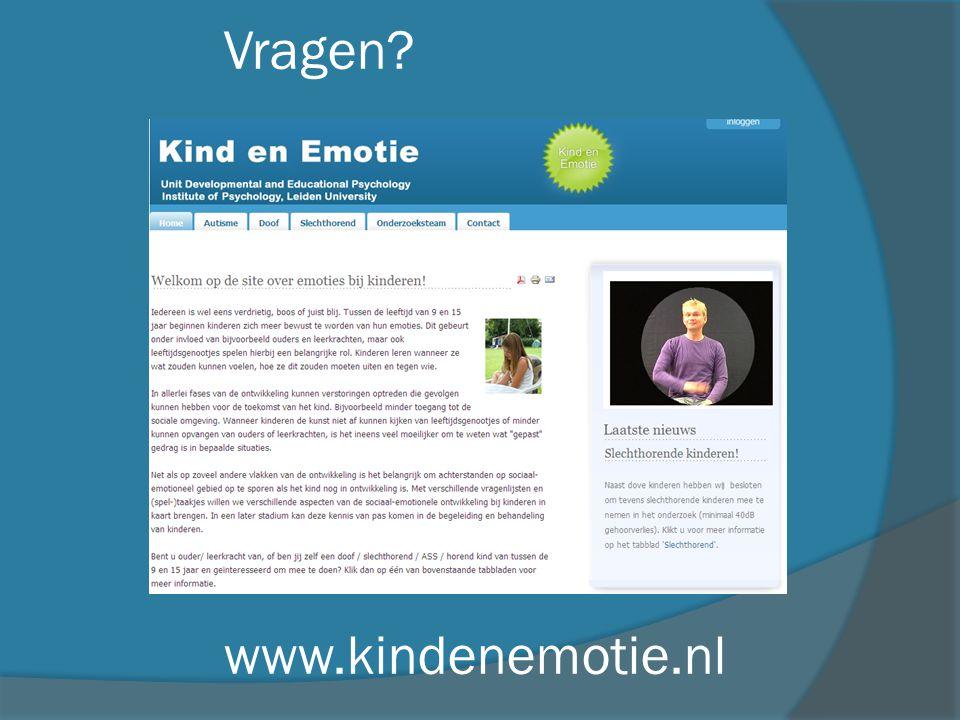 Vragen www.kindenemotie.nl