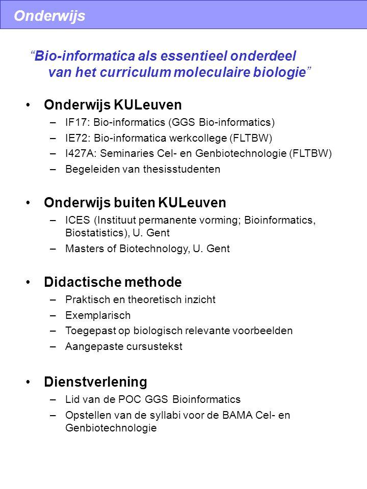 Motiefdetectie en comparatieve genoomanalyse