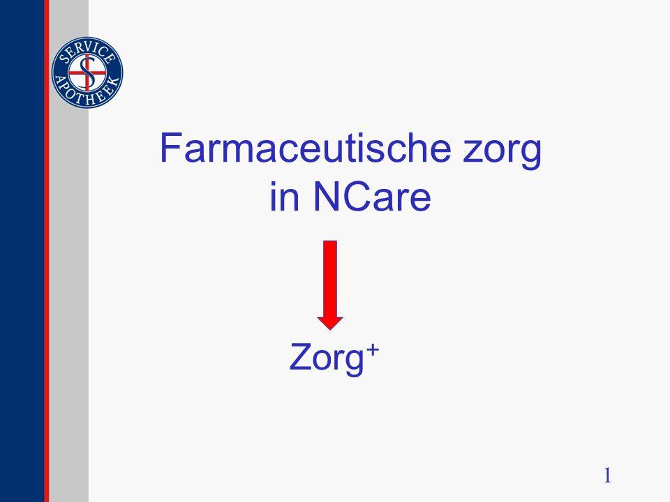 Farmaceutische zorg in NCare