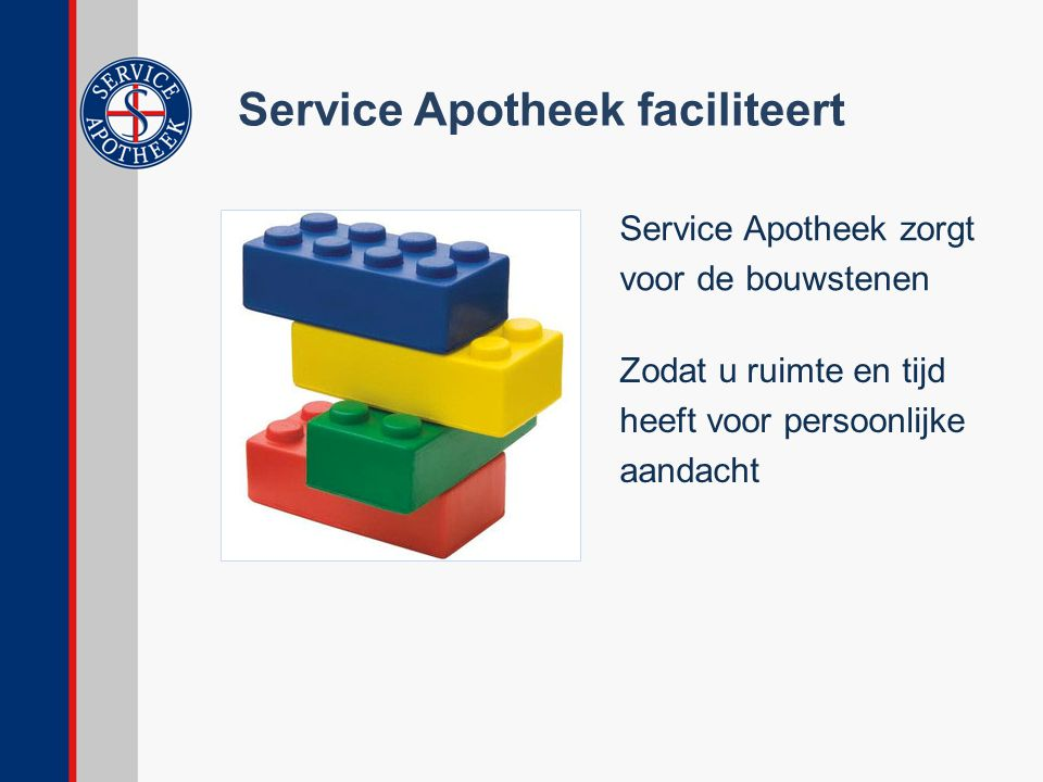 Service Apotheek faciliteert
