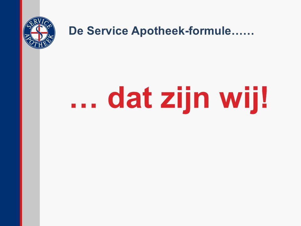 De Service Apotheek-formule……