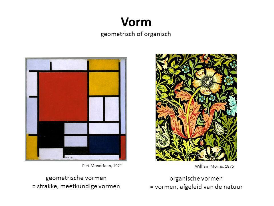 Vorm geometrisch of organisch geometrische vormen organische vormen