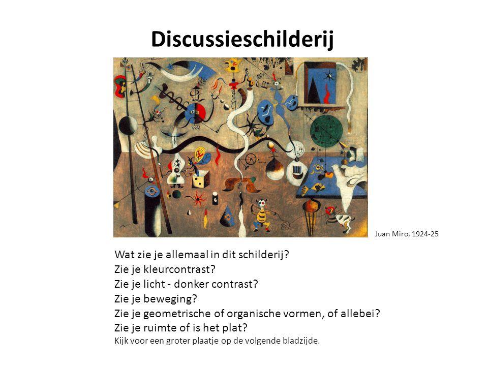 Discussieschilderij Wat zie je allemaal in dit schilderij