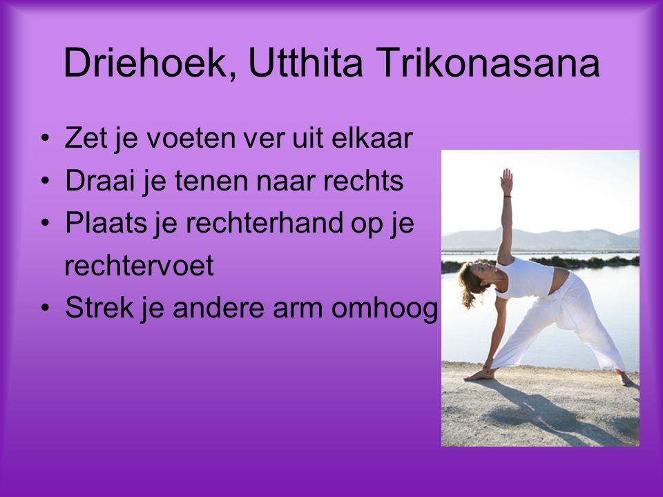 Driehoek, Utthita Trikonasana