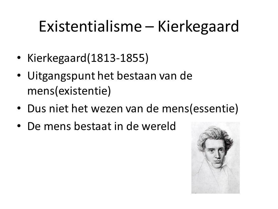 Existentialisme – Kierkegaard