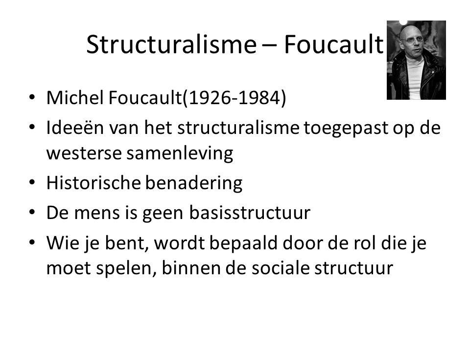 Structuralisme – Foucault