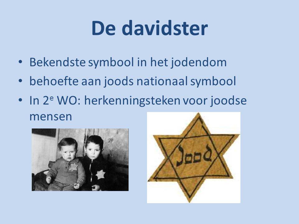 De davidster Bekendste symbool in het jodendom