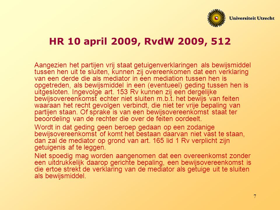HR 10 april 2009, RvdW 2009, 512