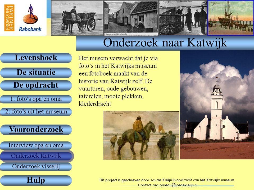 Onderzoek naar Katwijk