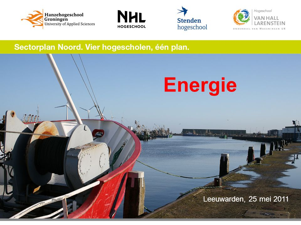 Energie Leeuwarden, 25 mei 2011