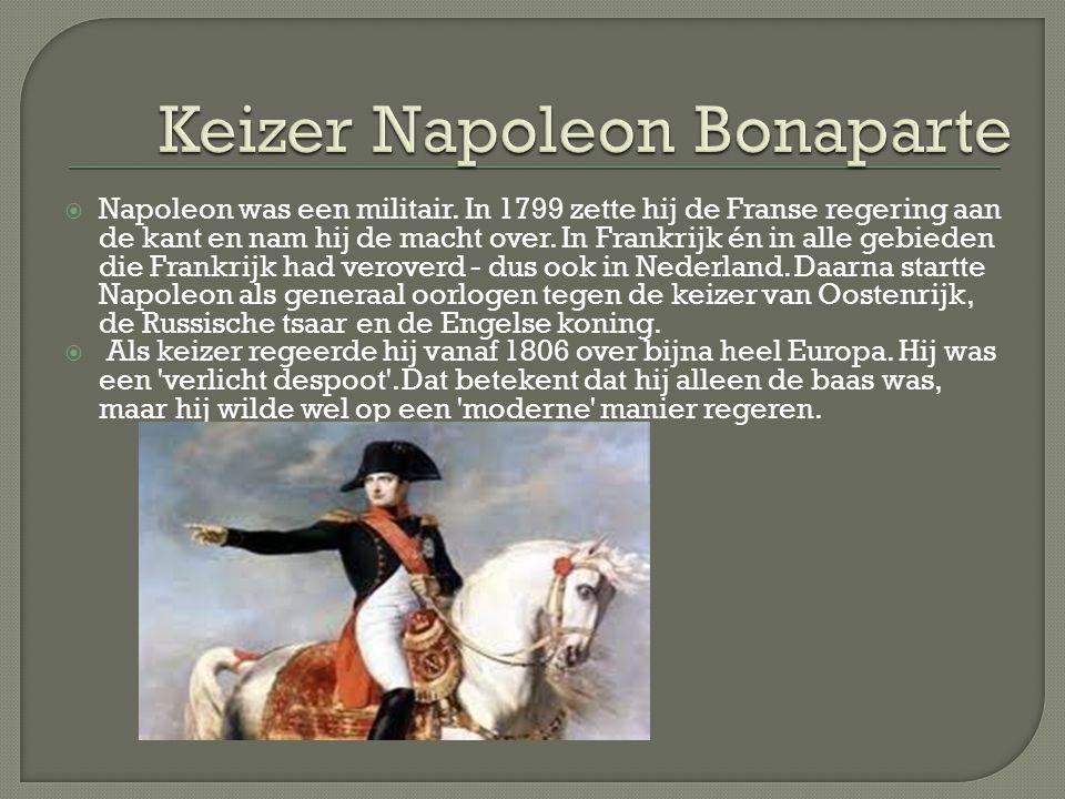 Keizer Napoleon Bonaparte