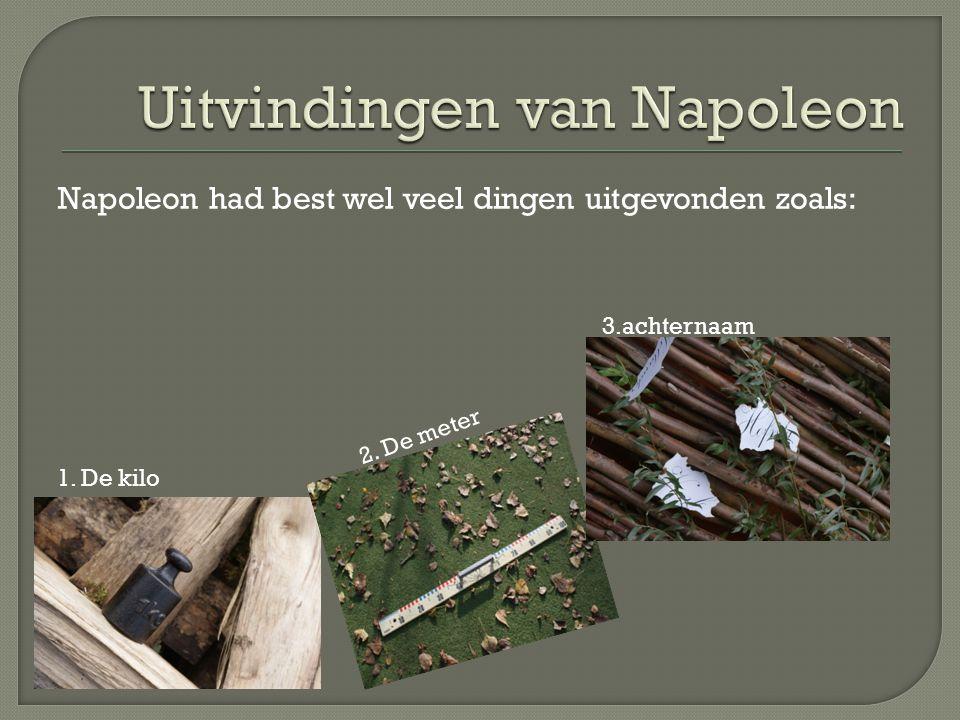 Uitvindingen van Napoleon