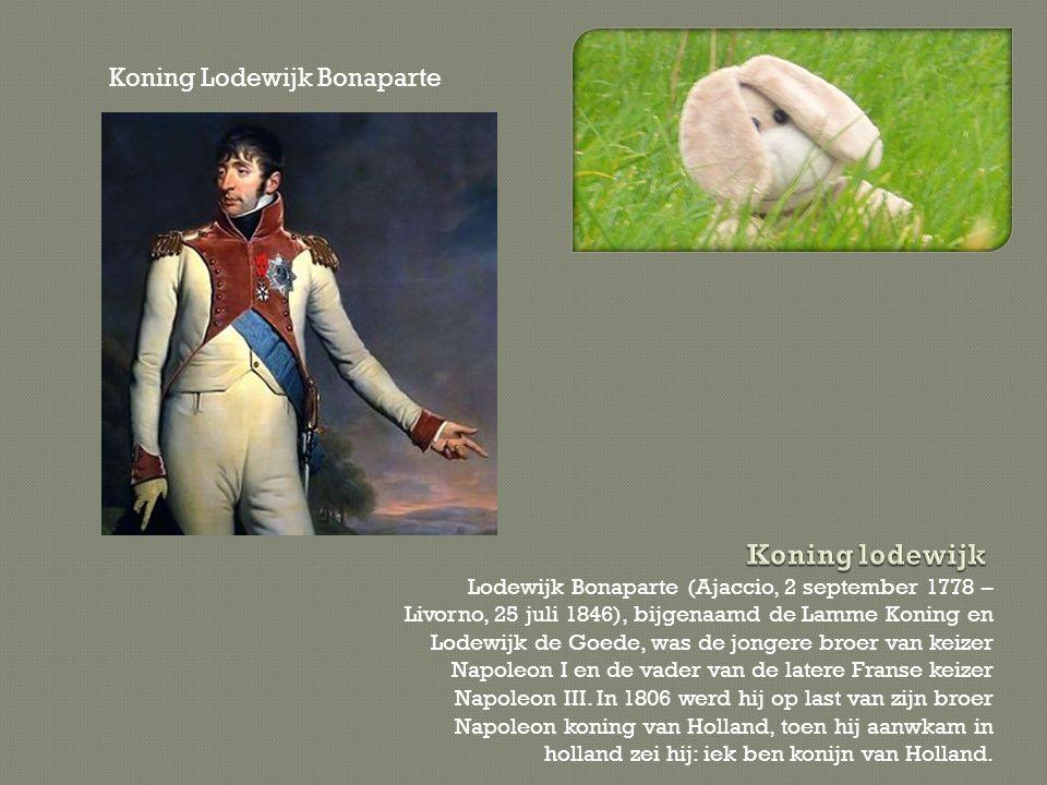 Koning lodewijk Koning Lodewijk Bonaparte