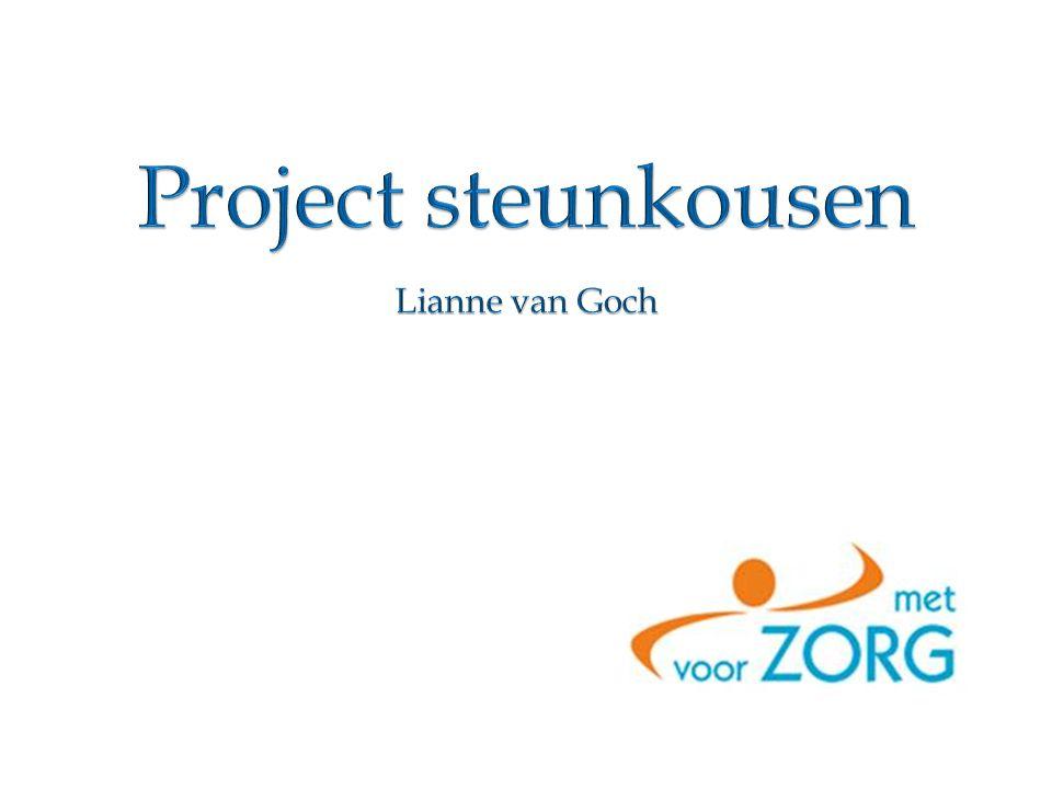 Project steunkousen Lianne van Goch
