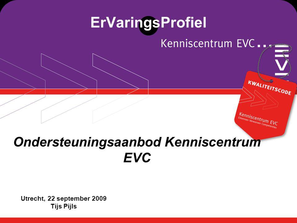 Ondersteuningsaanbod Kenniscentrum EVC