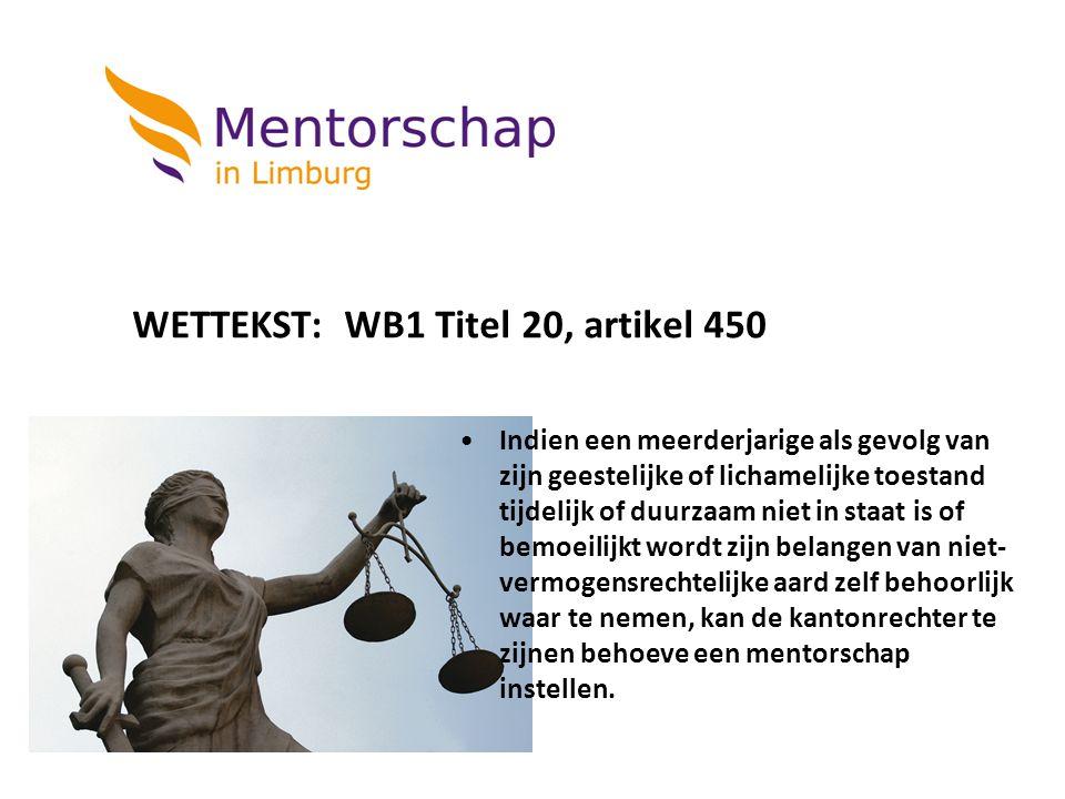 WETTEKST: WB1 Titel 20, artikel 450