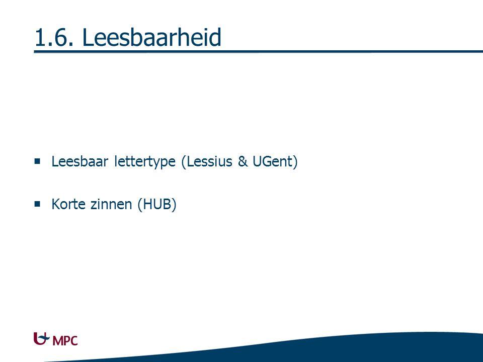 1.7. Technische Kwaliteit Contrasterende hyperlinks (HUB)