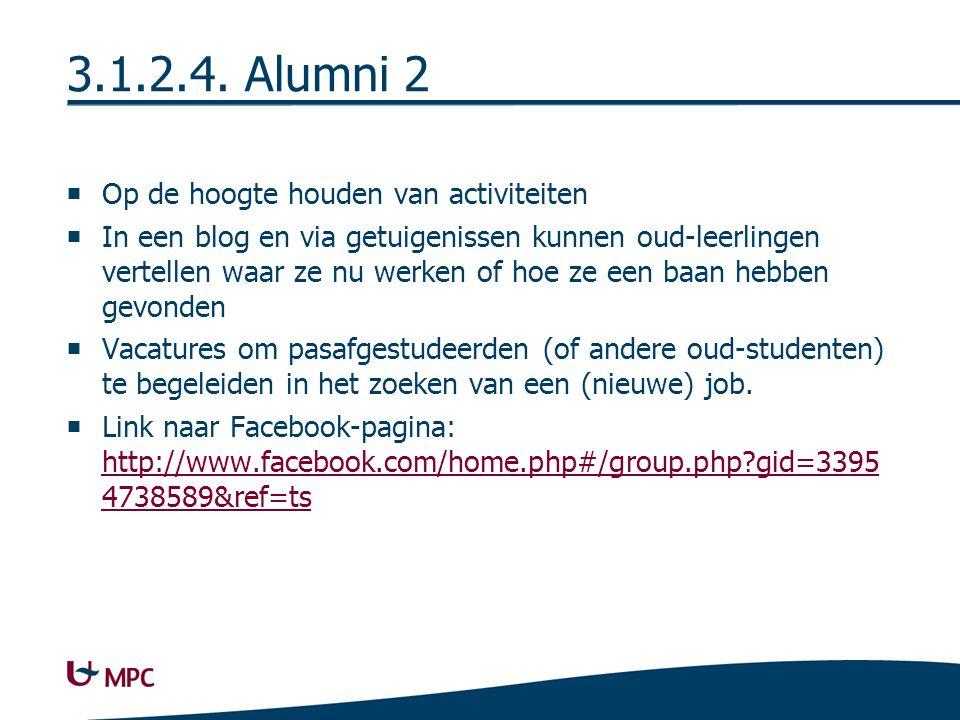 Facebookpagina MPC