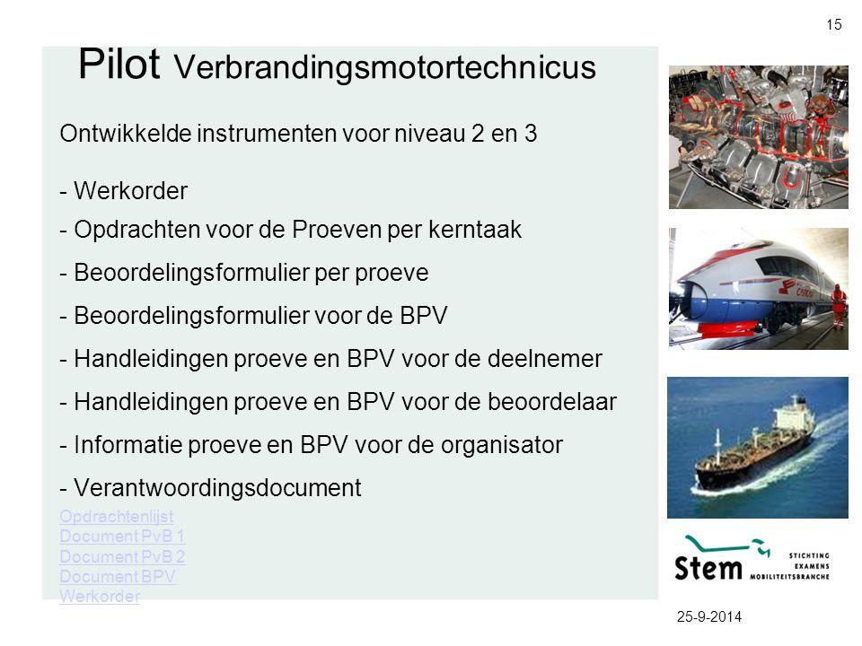 Pilot Verbrandingsmotortechnicus