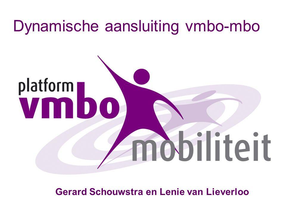 Dynamische aansluiting vmbo-mbo