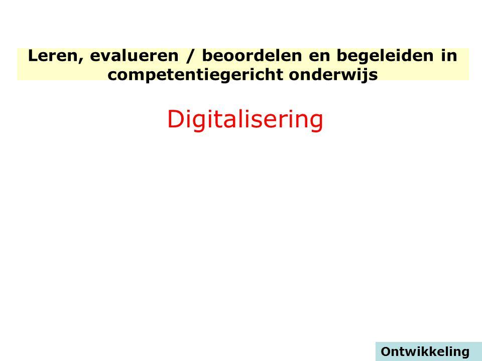 STICHTING CONSORTIUM BEROEPSONDERWIJS Digitalisering
