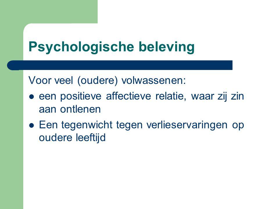 Psychologische beleving