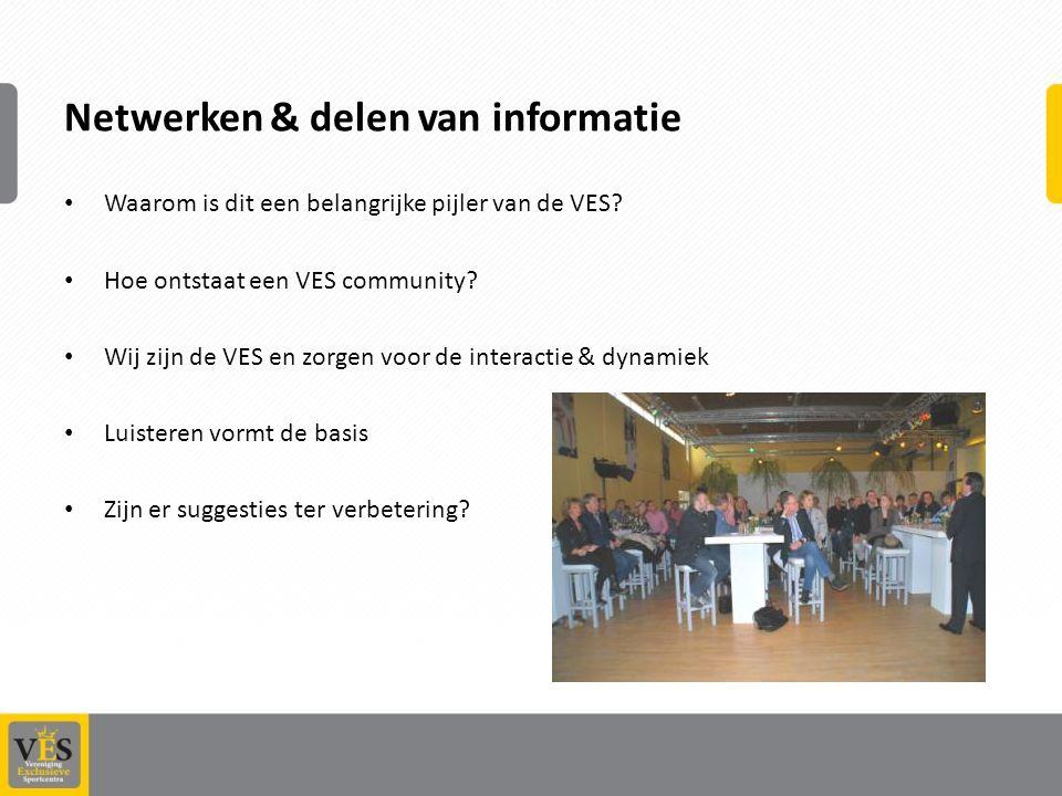 Netwerken & delen van informatie