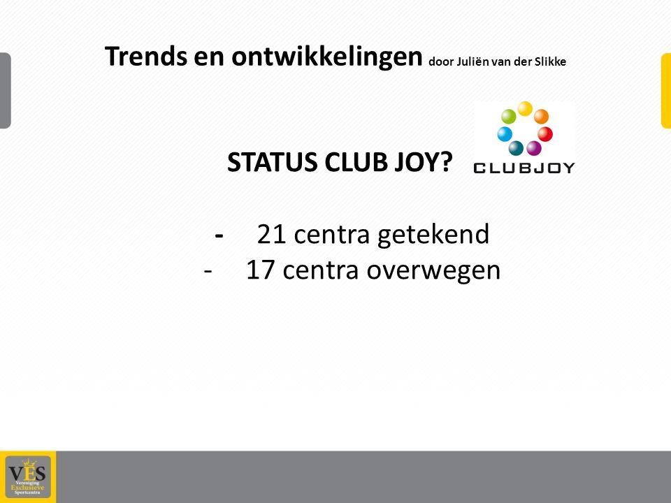 Trends en ontwikkelingen door Juliën van der Slikke