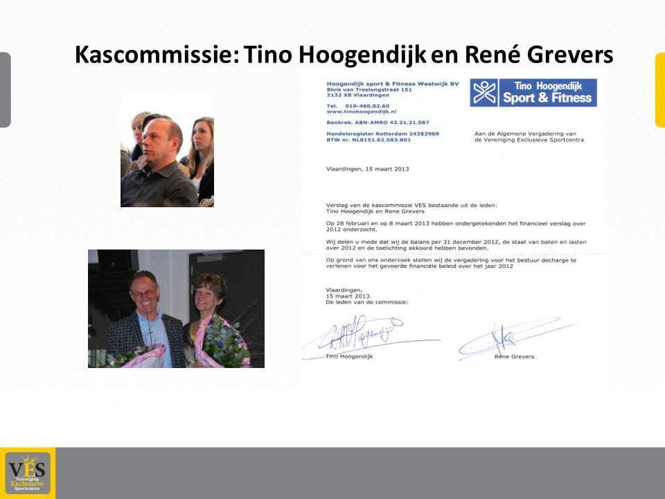 Kascommissie: Tino Hoogendijk en René Grevers