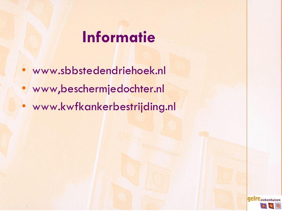 Informatie www.sbbstedendriehoek.nl www,beschermjedochter.nl