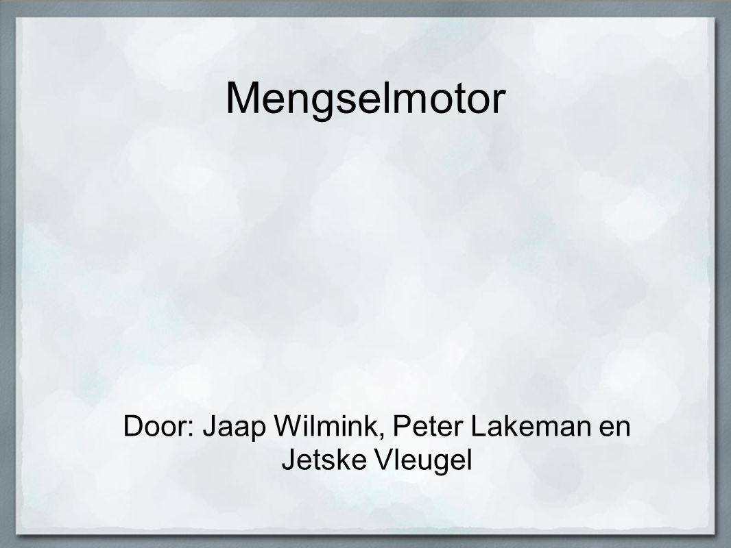 Door: Jaap Wilmink, Peter Lakeman en Jetske Vleugel