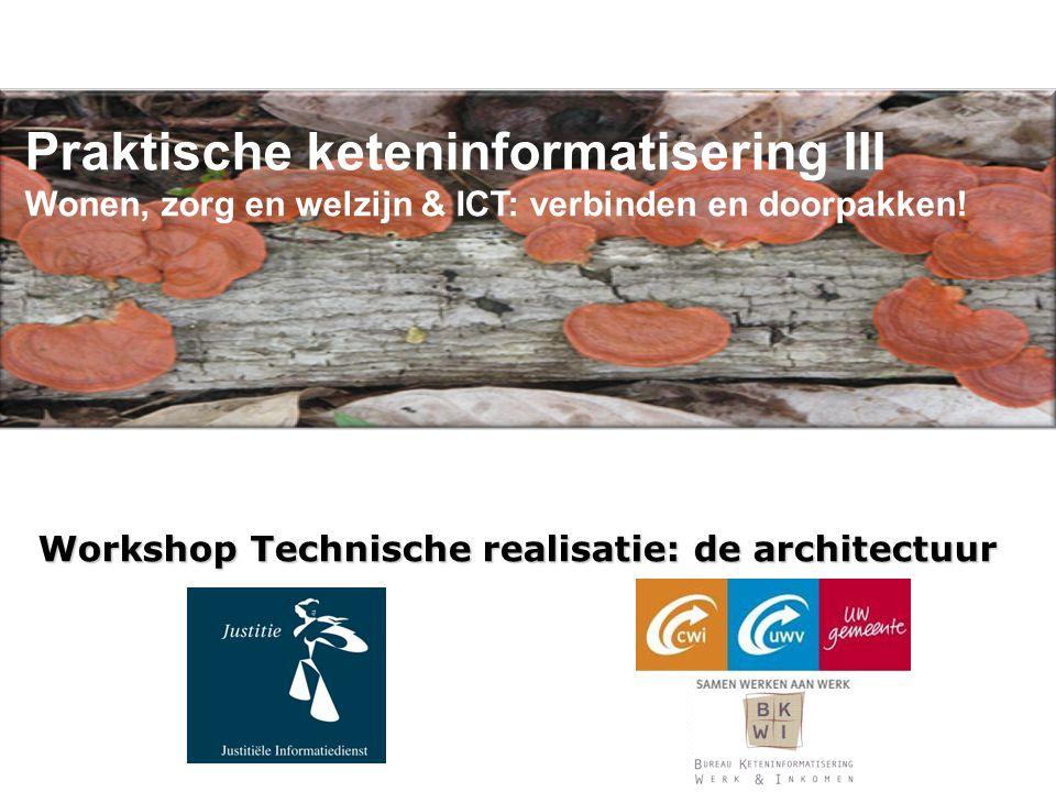 Workshop Technische realisatie: de architectuur