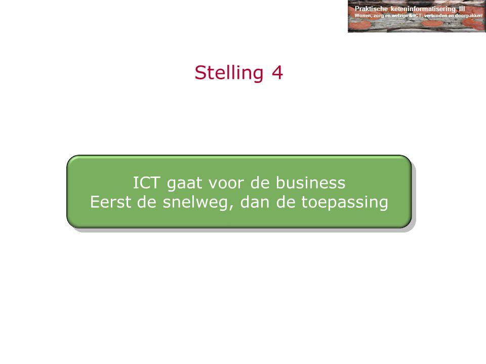 Stelling 4 ICT gaat voor de business