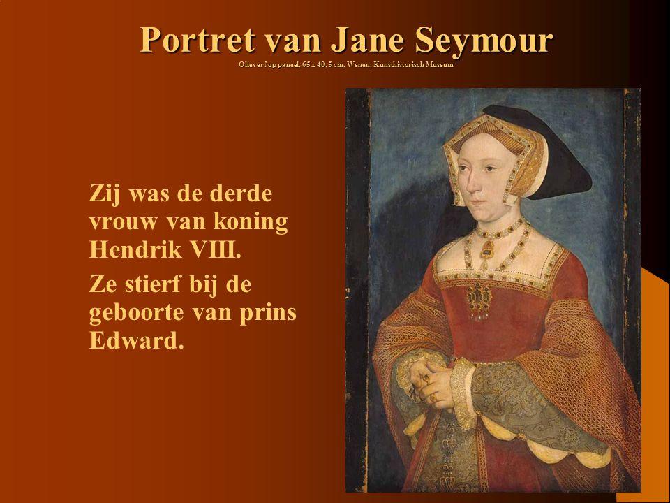 Portret van Jane Seymour Olieverf op paneel, 65 x 40, 5 cm, Wenen, Kunsthistorisch Museum