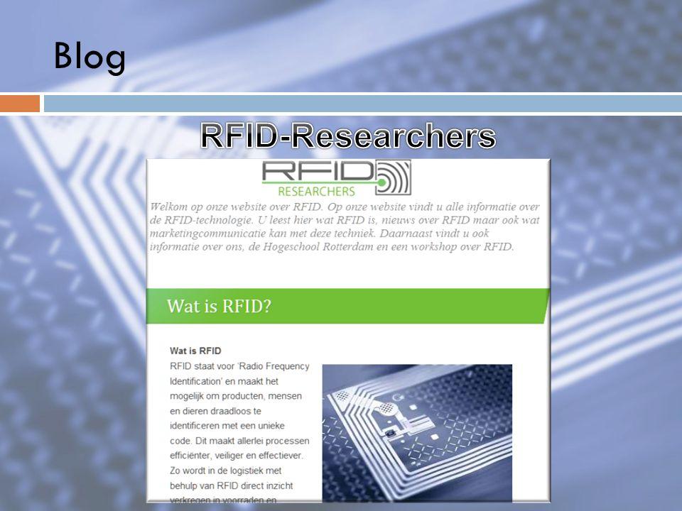 Blog RFID-Researchers