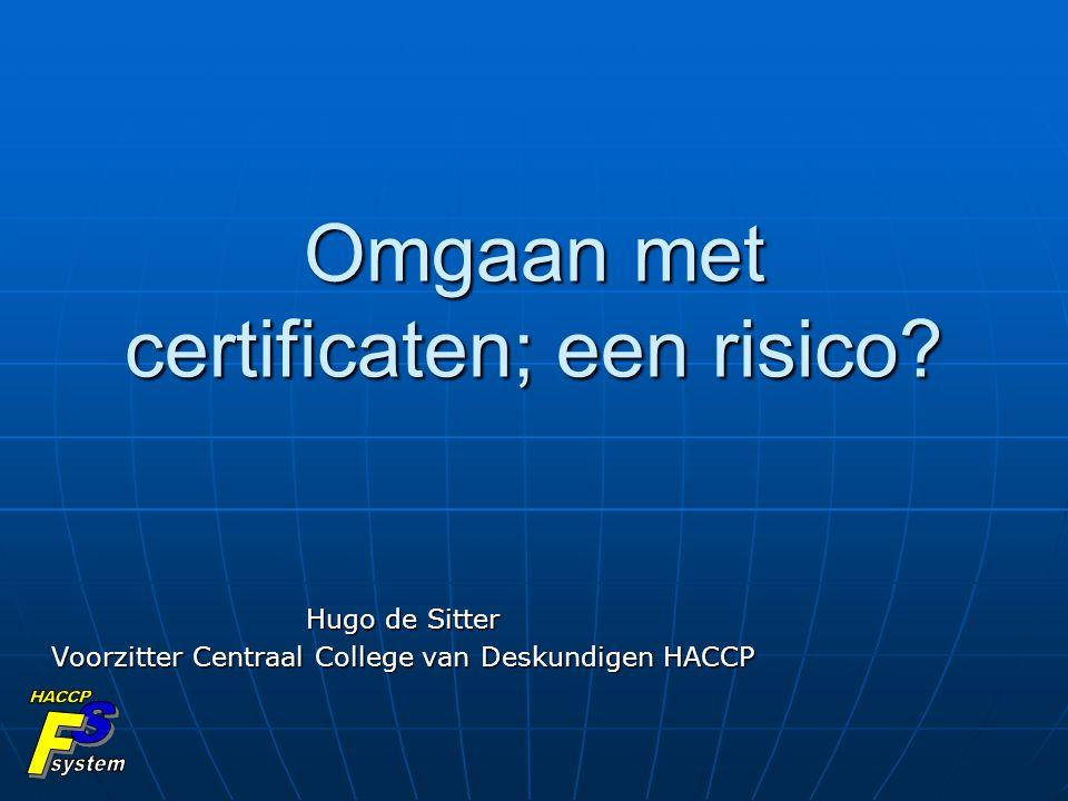 Omgaan met certificaten; een risico