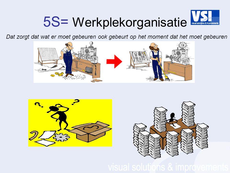 5S= Werkplekorganisatie