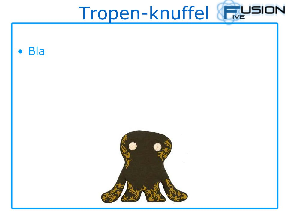 Tropen-knuffel Bla
