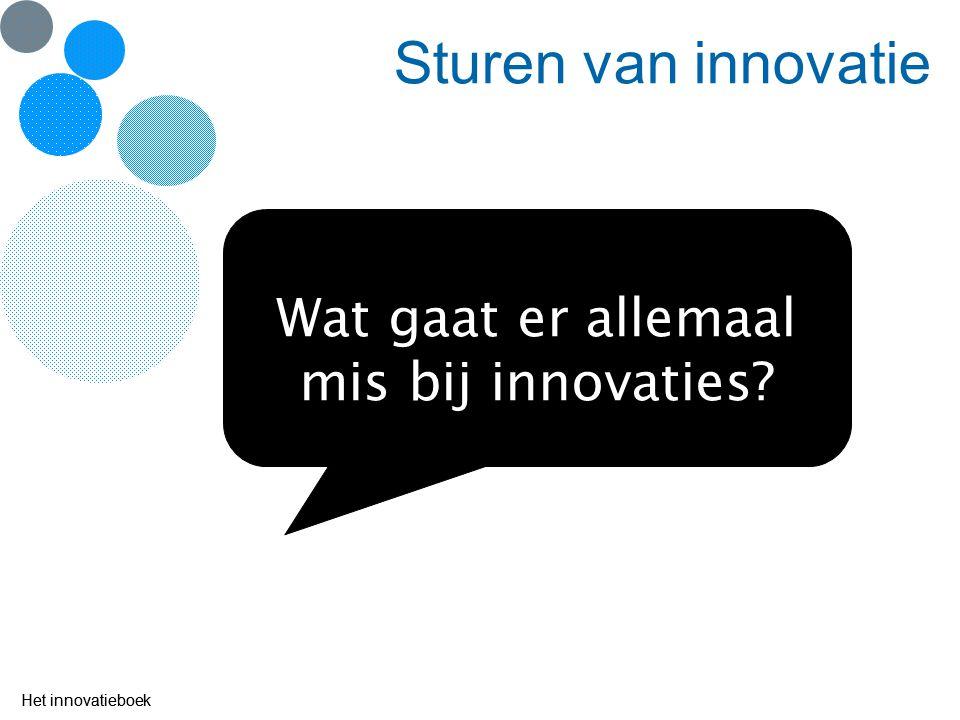 Wat gaat er allemaal mis bij innovaties