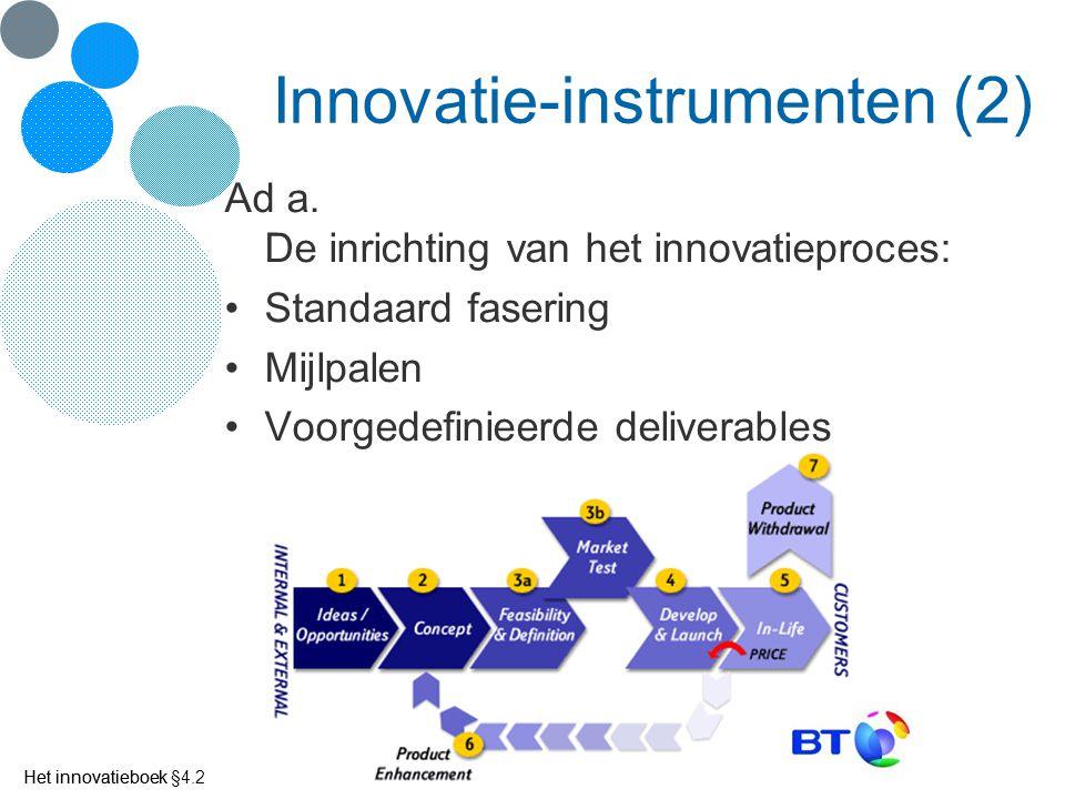 Innovatie-instrumenten (2)