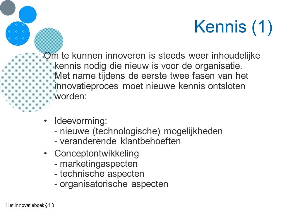 Kennis (1)