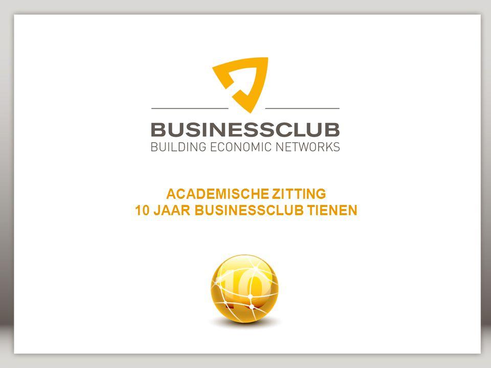 10 JAAR BUSINESSCLUB TIENEN