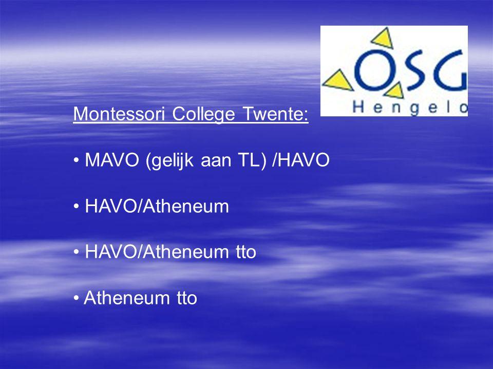 Montessori College Twente: