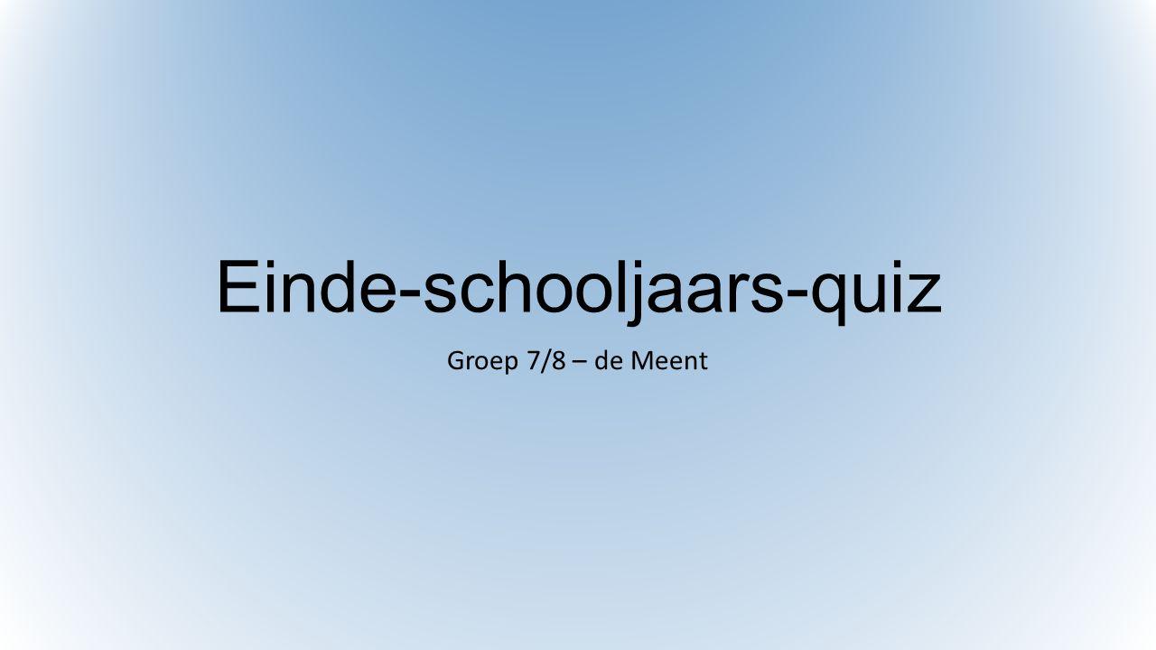 Einde-schooljaars-quiz
