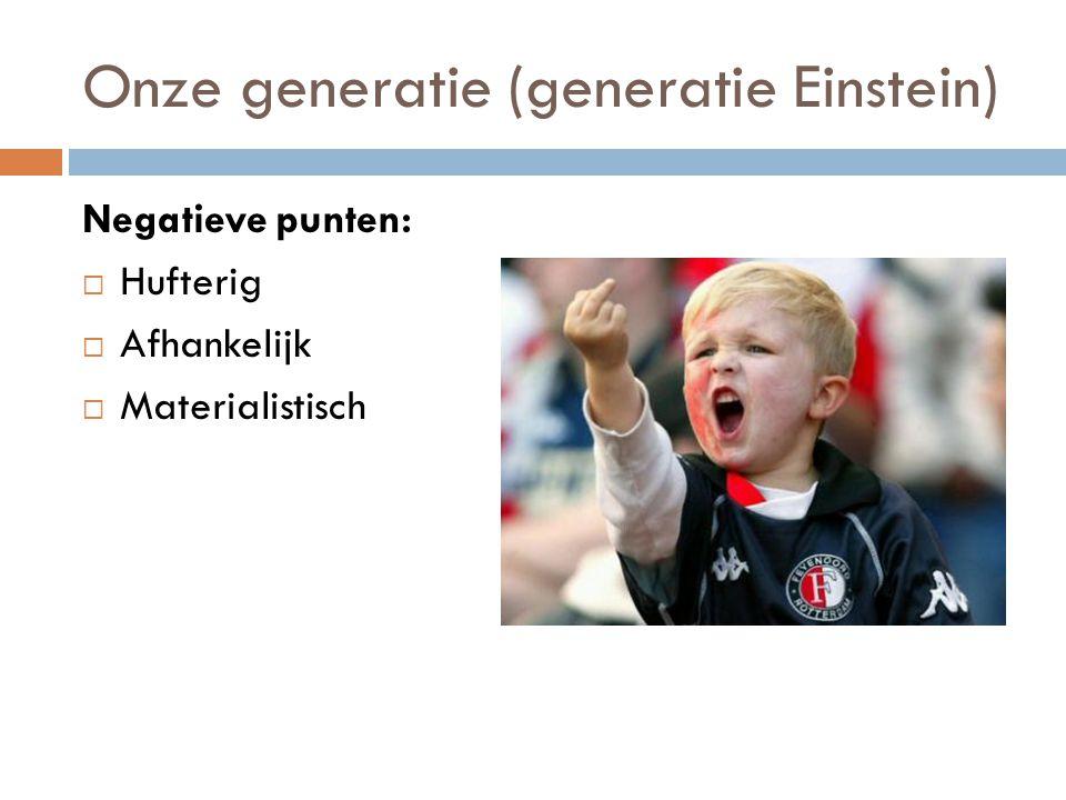 Onze generatie (generatie Einstein)