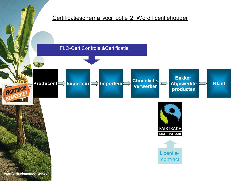 Certificatieschema voor optie 2: Word licentiehouder