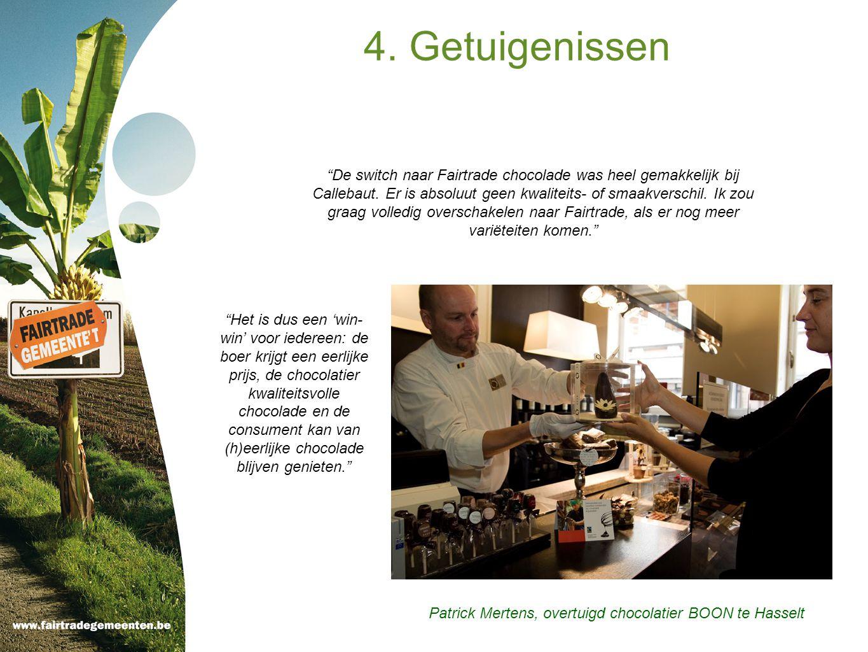 Patrick Mertens, overtuigd chocolatier BOON te Hasselt