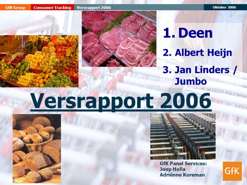 Versrapport 2006 1. Deen Albert Heijn Jan Linders / Jumbo