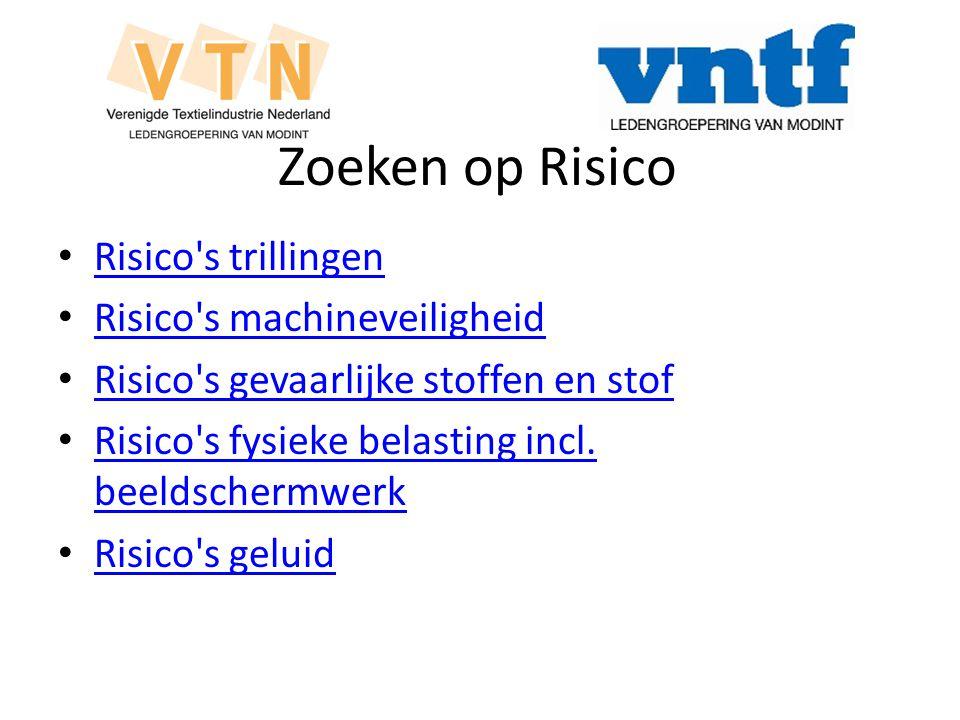 Zoeken op Risico Risico s trillingen Risico s machineveiligheid
